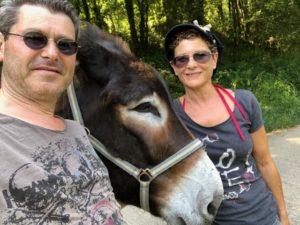 Selfie de Toto avec ses amis du jour!